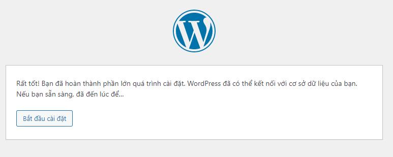 Thiết lập nhanh WordPress 4.