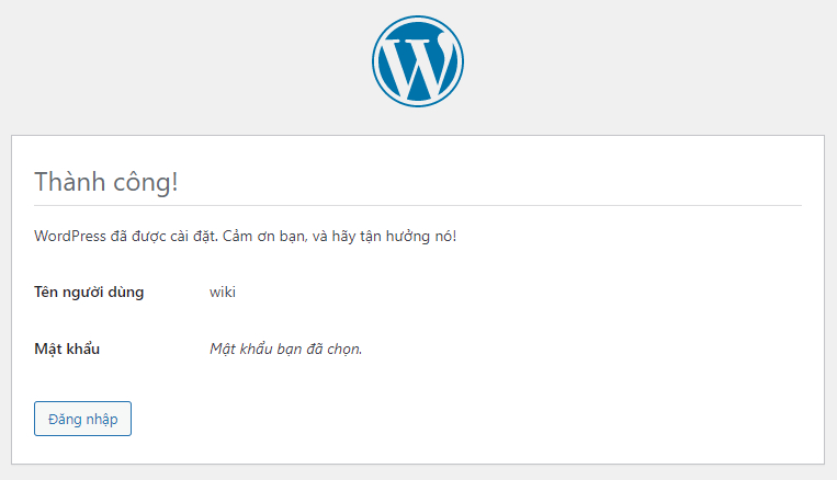 Thiết lập nhanh WordPress 6.