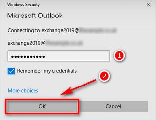 Điền mật khẩu tài khoản Mail Microsoft 365 trên Outlook.